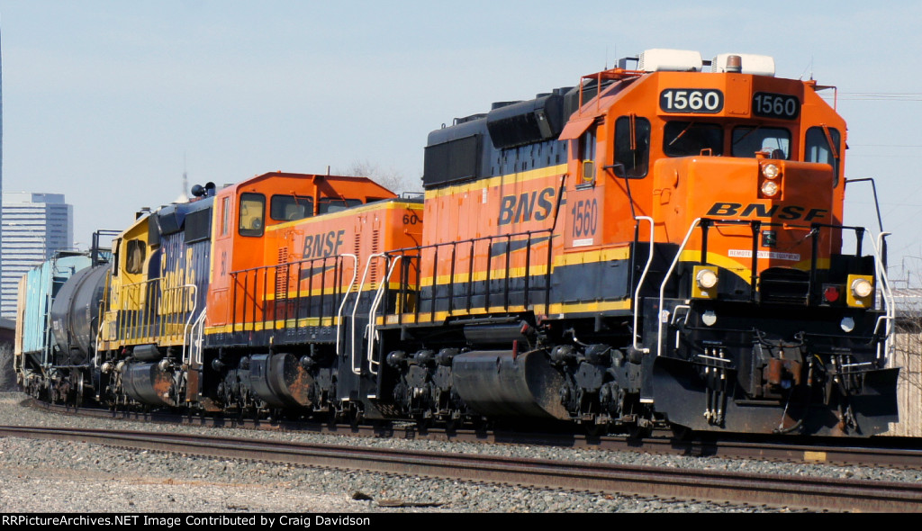 BNSF 1560 Local freight