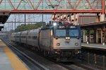 """AMTK AEM-7 #931 on Train No. 55 """"Vermonter"""""""