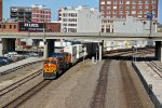 BNSF 6521 Heads a WB into the afternoon sun..