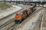 BNSF 5931 Leads a coal load through the Junction.