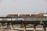 3 Brand new Gevo's work a Z train westbound on the Transcon!!