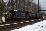 CSX GP40-2 6156 third out on C964-02