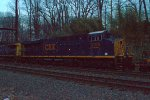 CSX ES44AH 3160 trails on Q034-10