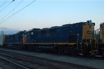 CSX 2GS14Bs 1319 and 1317 nose to nose on Q417-26