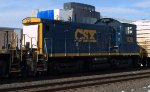CSX SW1001 1128 trails on Q433-06