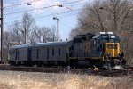 CSX Geometry Train on the Trenton Industrial