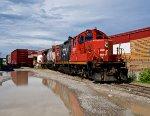 CN in East Calgary