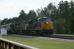 NB carrying intermodal and trailers.