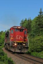 CN 407 AT FOLLY LAKE