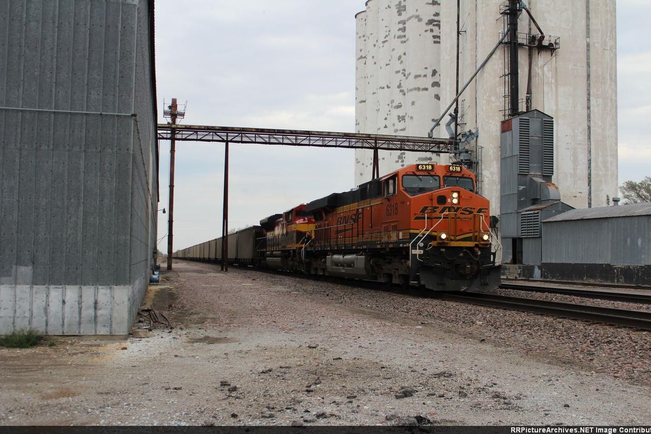 BNSF 6318 West