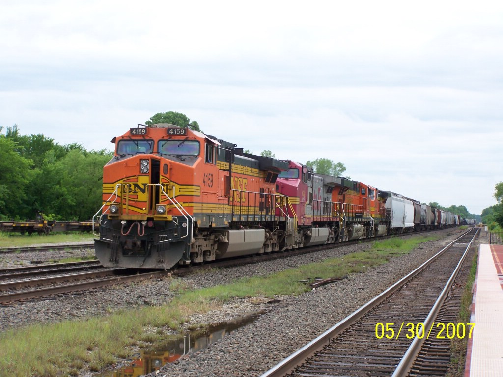 BNSF C44-9W 4159