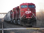 Southbound Canadian Pacific potash train