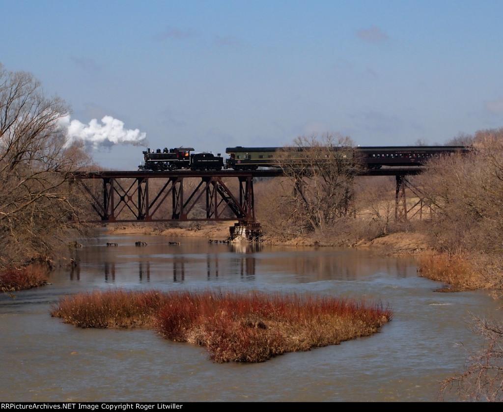 Waterloo Central Railway Steam Engine No.9
