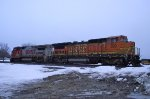 BNSF 529 and 539