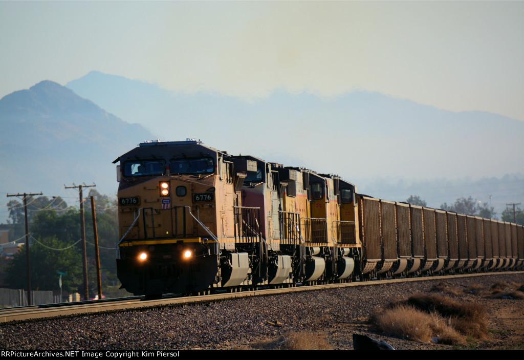 UP 6776 Coal Loads