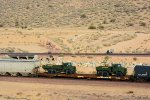 ITTX 965624 Flat Car with Military Trucks
