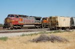 BNSF in warbonnet paint