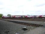 A line of brand new HSP46 locomotives