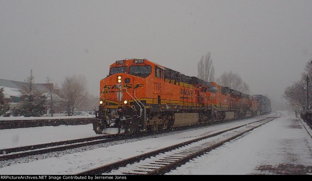BNSF Snow Day