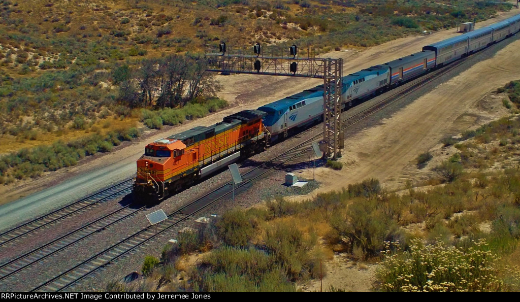 Amtrak On Cajon