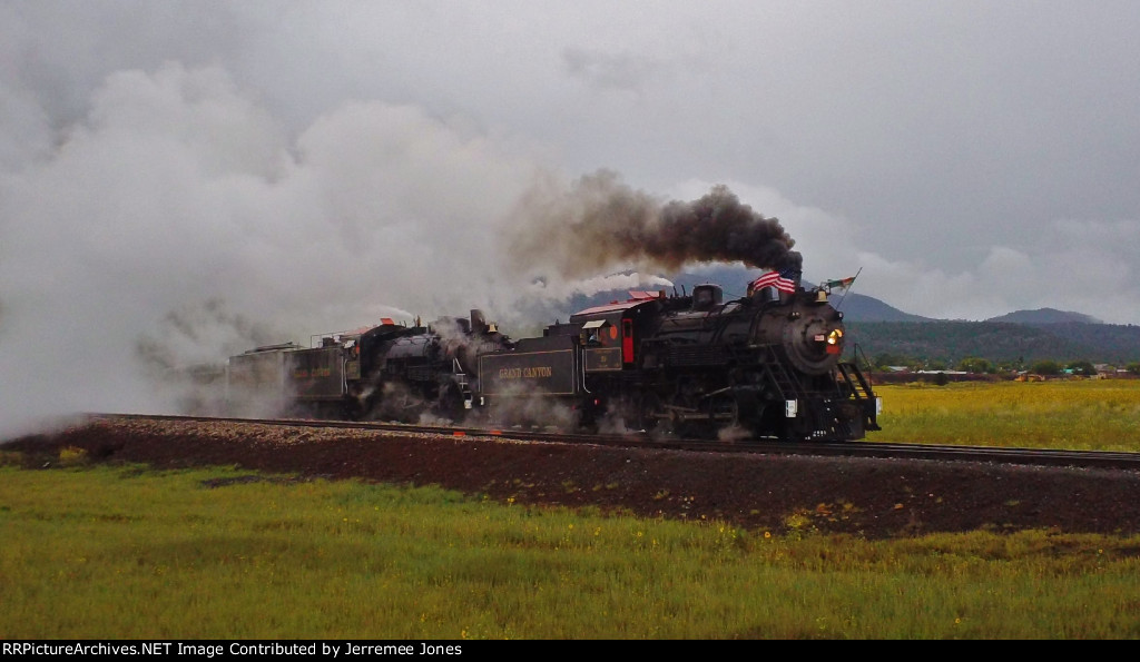 Steam Doubleheader!