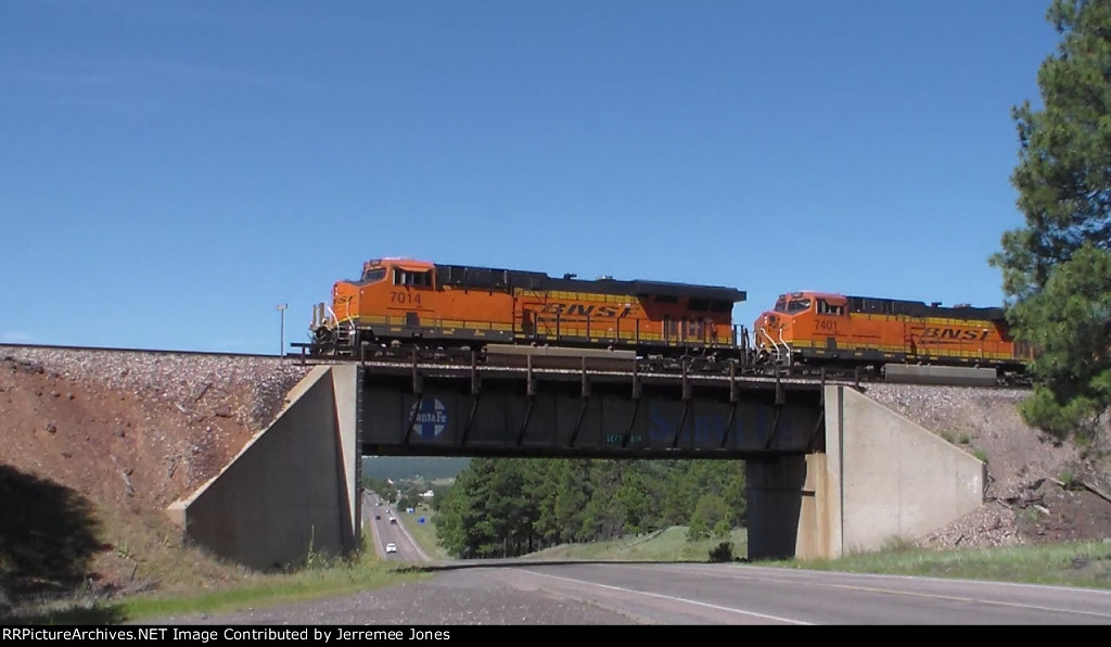 BNSF Over Route 66