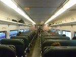 Interior of NJ Transit Comet IV cab car 5011