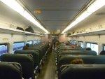 Interior of NJ Transit Comet IV cab car 5011