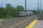 NJT 4501 with Pascack Valley local