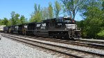 NS 215 Southbound pulling into Whitaker Yard