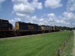 CSX 7509 (2nd unit), CSX 4303 (3rd unit), CSX 5259 (4th unit)