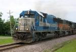 EMD 9006 leading EB train