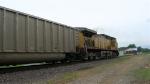 UP 7120 SB at end of unit coal train