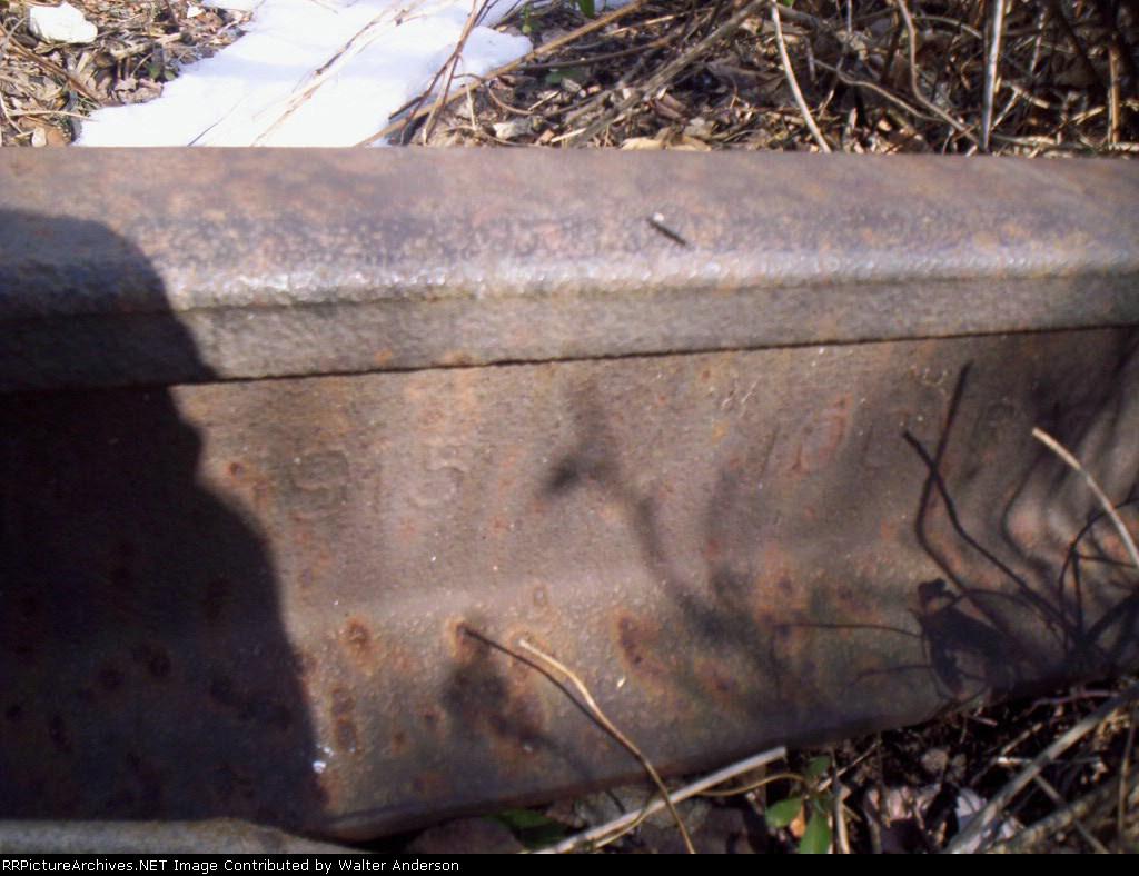 Rail stamping
