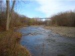 NS Trestle over Elk Creek