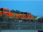 BNSF 8062 and 7658