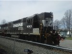 NS 5063 Departing On NS C23