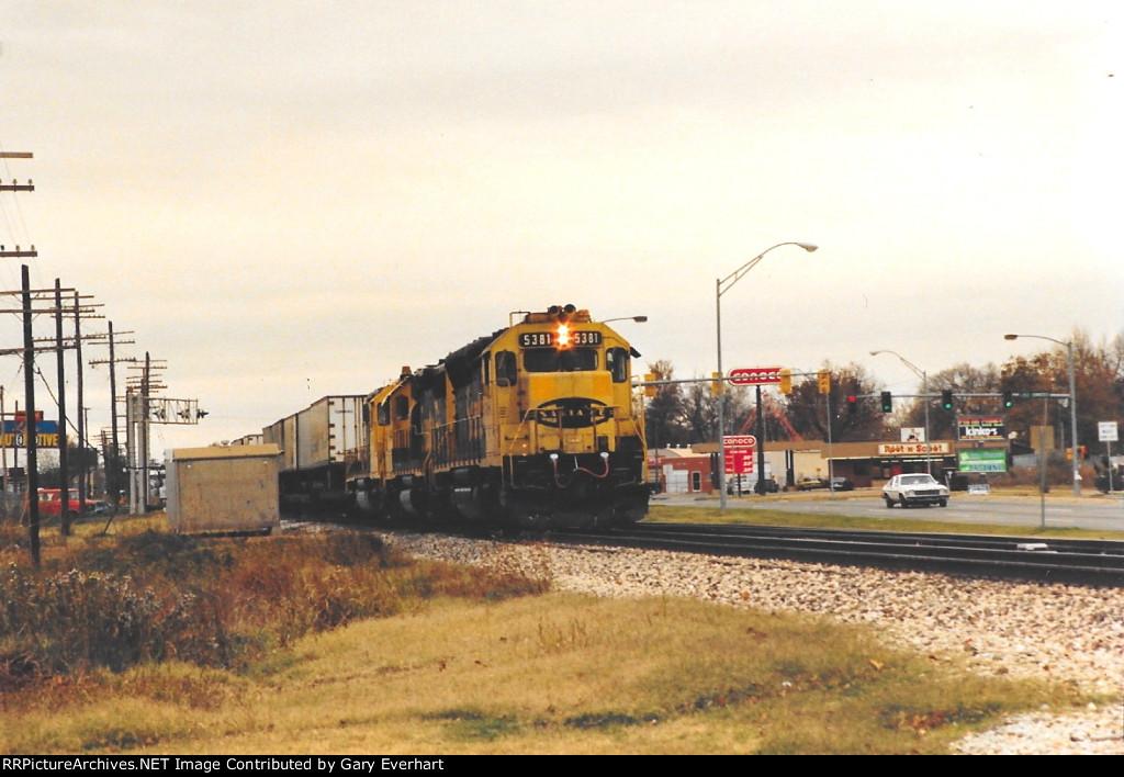 ATSF 5381 - Atchison, Topeka & Santa Fe