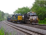 CSX 4451 and 9578