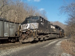 NS 9037 at the Big Branch area between Wharncliffe & Glen Alum