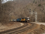 NS 5325 leads 2 rentals with new coal cars