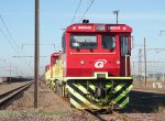 Grindrods Class 30 Diesel locomotive preparing to depart Bijlkor yard returning to Pyrimad.
