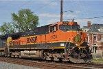 BNSF 1038 On CSX Q 243 Southbound