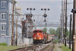 CN 8952 On NS M 77 Eastbound