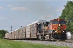 BNSF 1038 On CSX Q 243 Eastbound