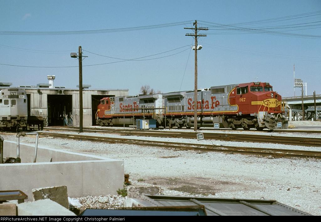 ATSF 917 and ATSF 618