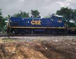 CSX 1185 Roster Shot