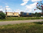 CSX 1201 with a...CABOOSE?