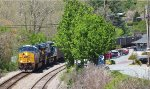 CSX SB Loaded Coal Through Spruce Pine