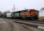 BNSF 2292 and 2887
